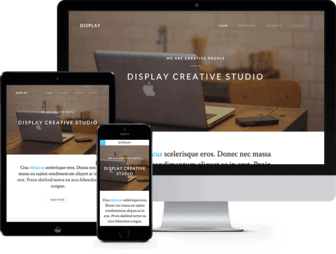 Display: Free HTML5 Template using Bootstrap