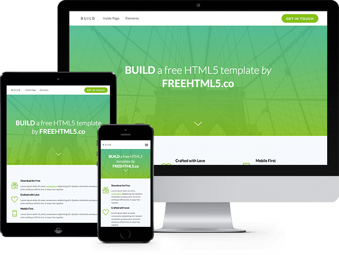 Free responsive html5 css3 templates free bootstrap for Free html5 responsive templates