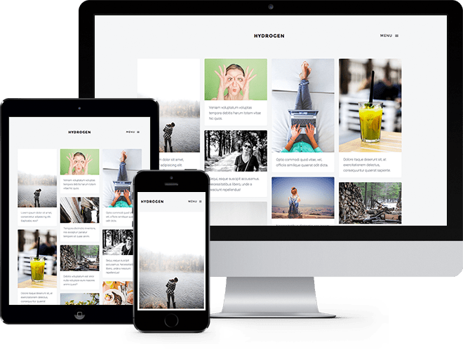 Hydrogen Free HTML5 Bootstrap Template