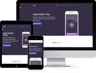 Crew: Free HTML5 Bootstrap Template