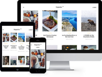 Magazine Free HTML5 Bootstrap Template