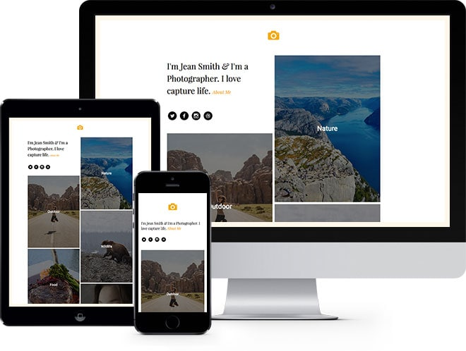 Epic Free HTML5 Bootstrap Website Template