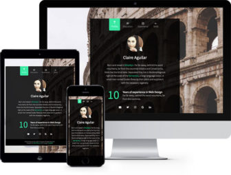 Personal Free HTML5 Bootstrap Website Template