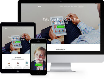 Bold Free Website Template Using Bootstrap