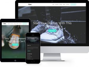 Flew: Free HTML5 Bootstrap Template