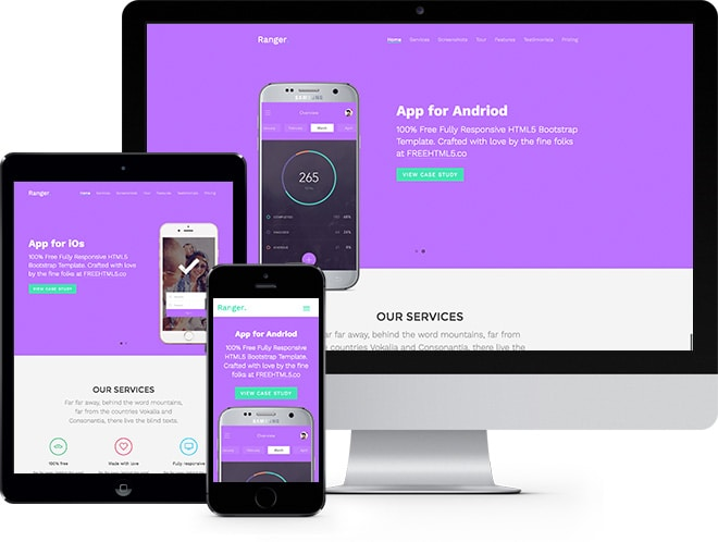 Ranger Free Website Template
