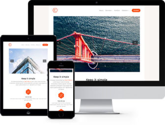 Cache Free HTML5 Bootstrap Template