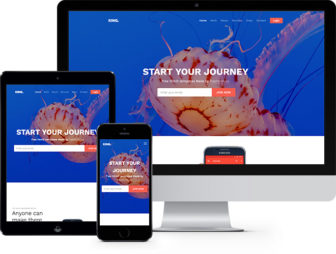 King Free Website Template Using Bootstrap