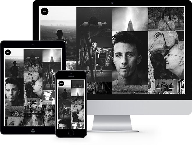 Photo Free Website Template Using Bootstrap for Photographer