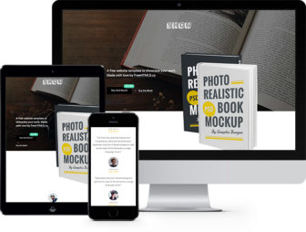 Show Free HTML5 Bootstrap Template for eBooks