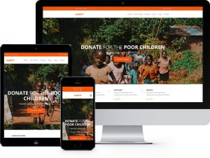 Charity: Free Website Template Using Bootstrap for Non-profit Websites