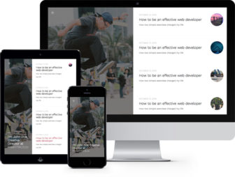 Story Free HTML5 Bootstrap Template for Personal Blog Websites
