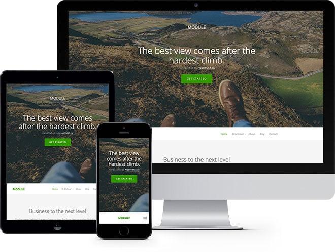 Module Free HTML5 Bootstrap Template Multi Purpose