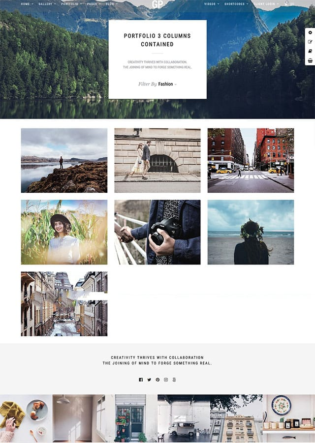 Grand Photography – Photography Wordpress Theme
