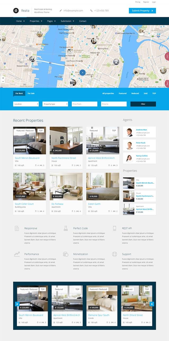 Realia- Resposive Real Estate Wordpress Theme