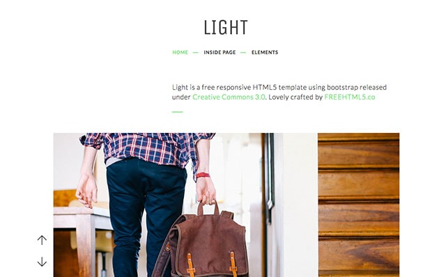 Light: Free HTML5 Template Bootstrap - Free Responsive HTML5 Template