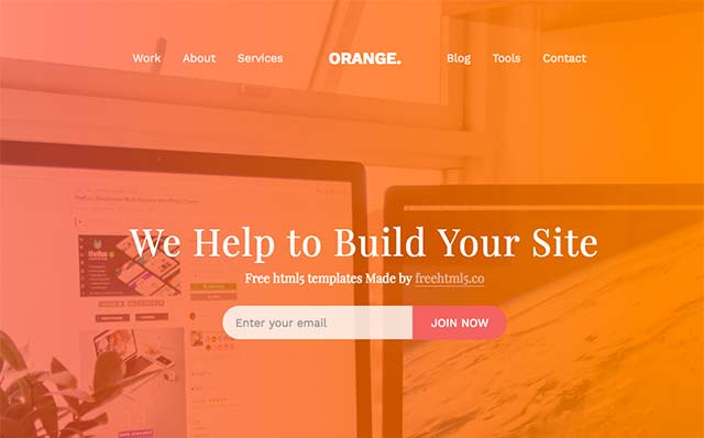 Orange: Free HTML5 Bootstrap Template Multi Purpose - Free Responsive HTML5 Template