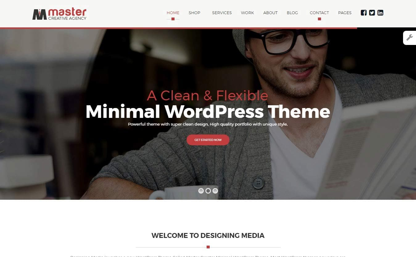 20 Best Minimalist WordPress Themes 2017