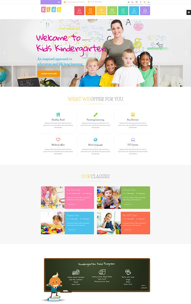 Michigan Learning Suite – All-in-one Education WordPress Theme