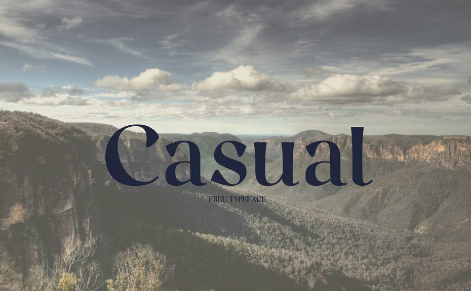 Casual - Free Fonts