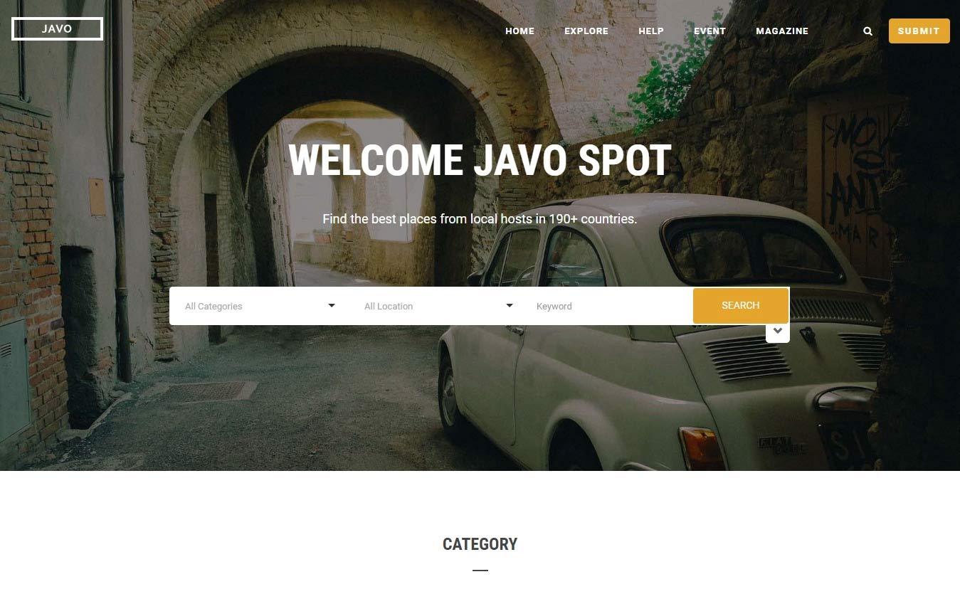 Javo Spot