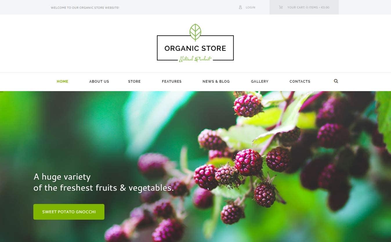 Organic Store