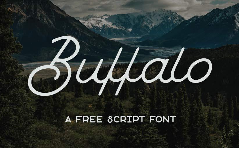 Buffalo - Free Script Font