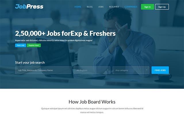 17 Best Job Board WordPress Themes 2017 You Should See