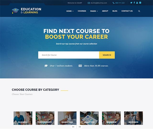 EducationWP – Education WordPress Theme