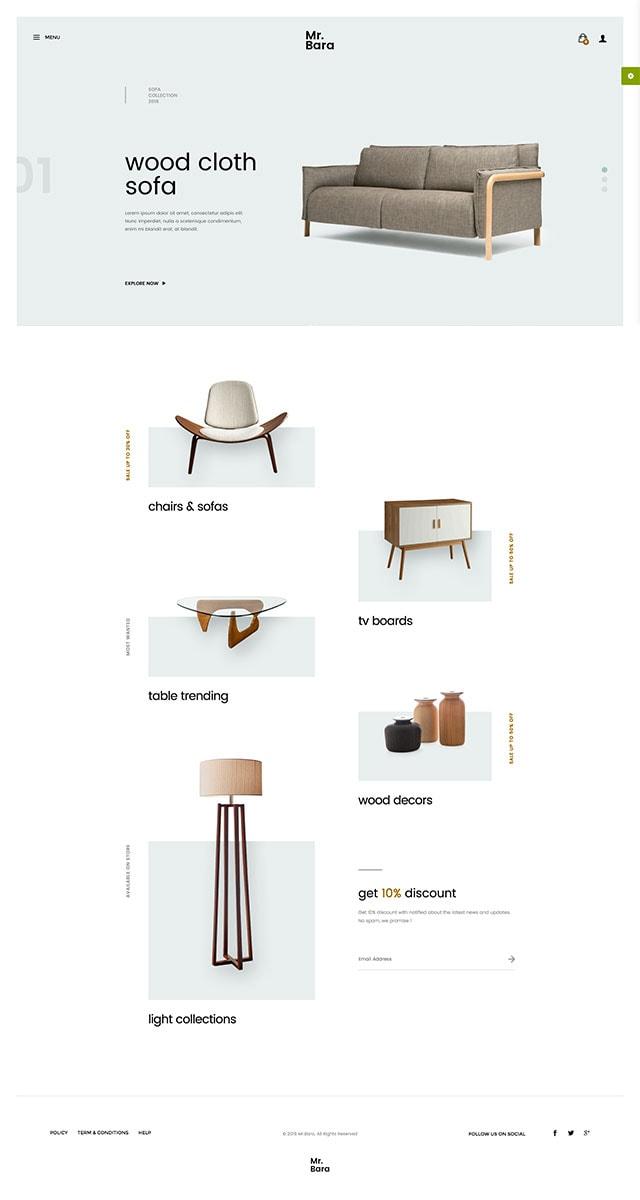 Mr.Bara - Responsive Multipurpose eCommerce WordPress Theme
