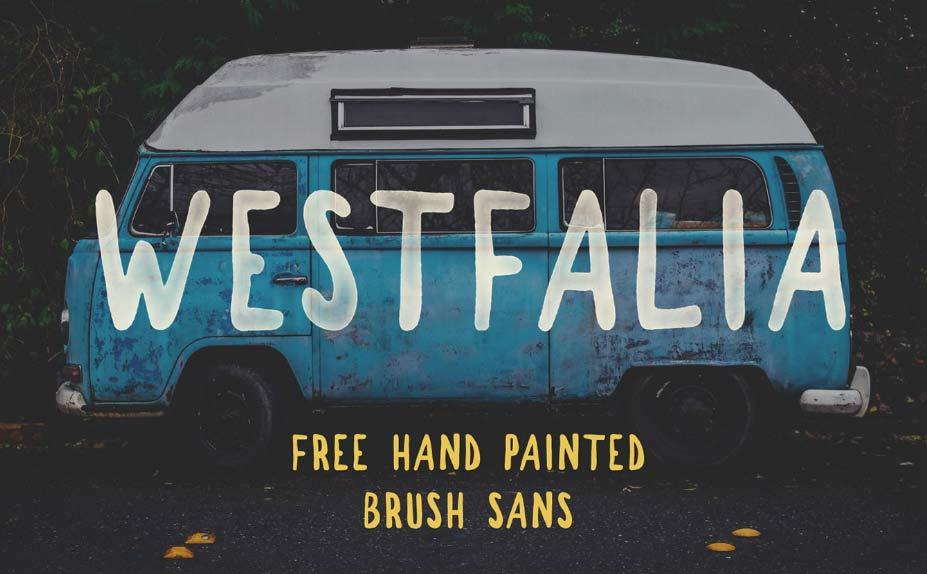 Westfalia Free Font