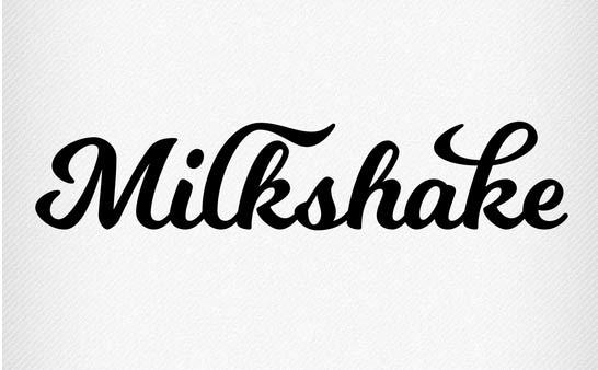 Milkshake Free Font