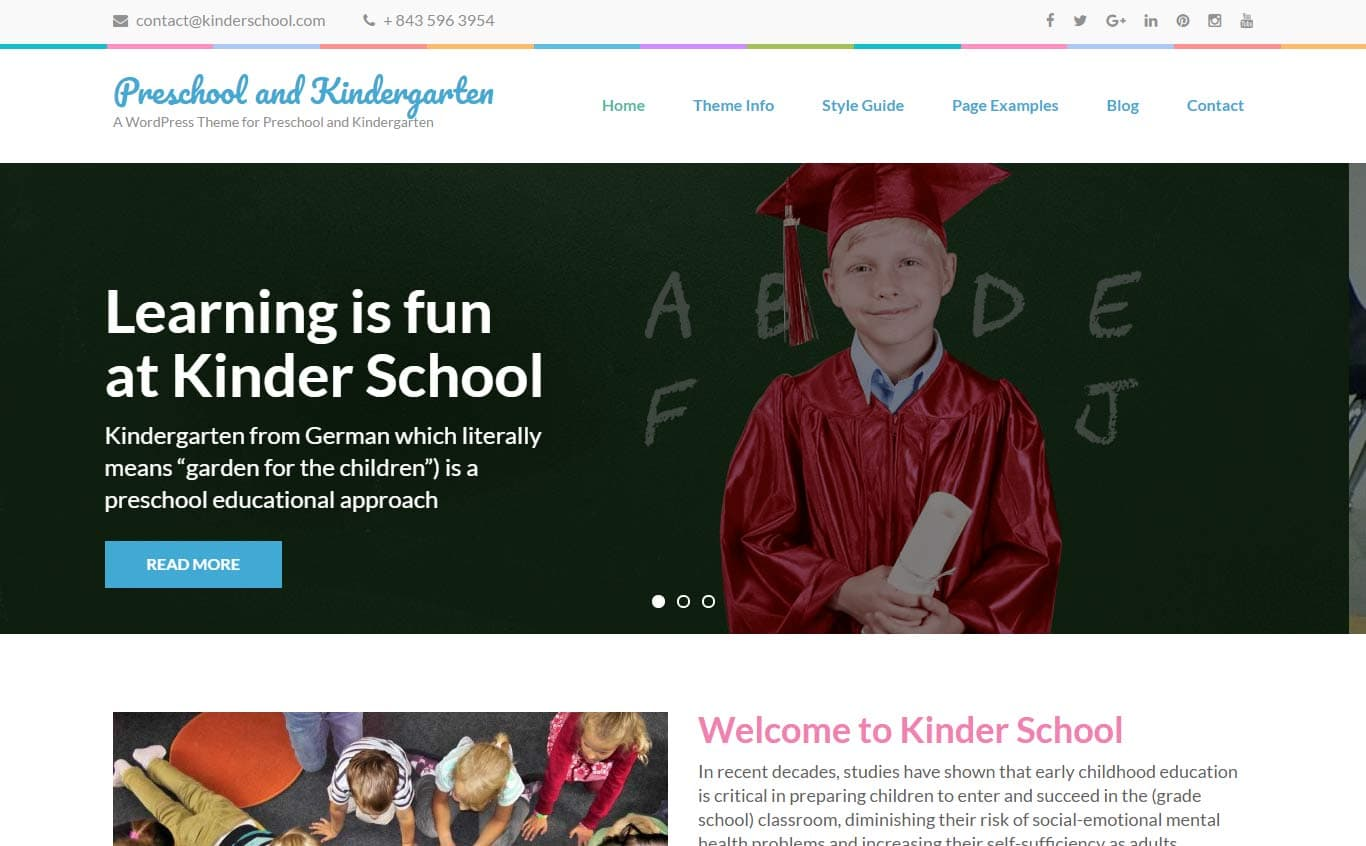 Preschool and Kindergarten