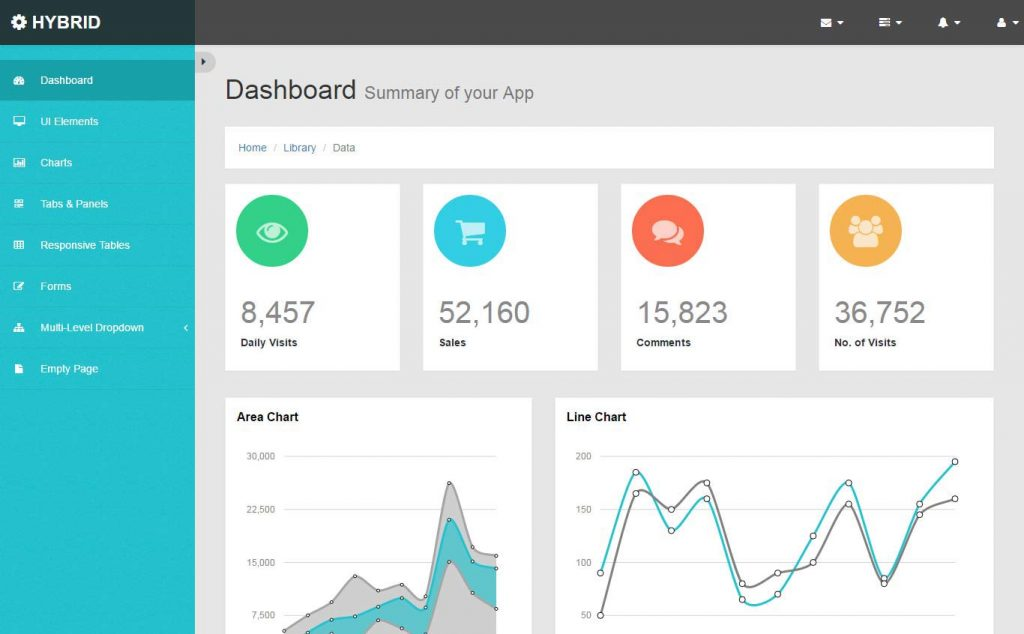 48 free html5 responsive admin dashboard templates 2017 business decisions are to be based on facts this is where the importance of dashboards is being valued having dashboards will help you access valuable friedricerecipe Image collections
