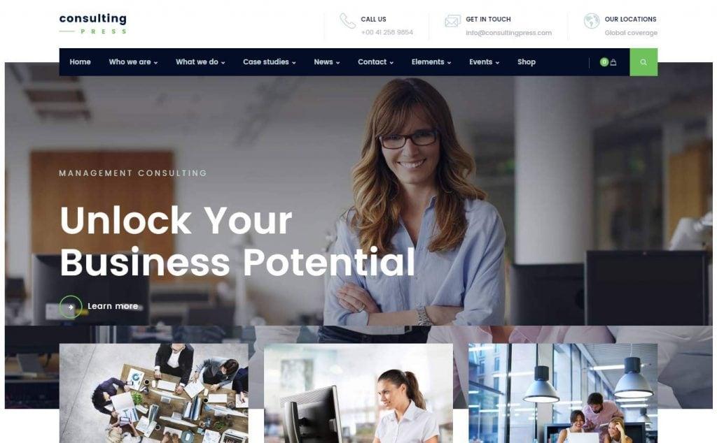 29 best new corporate business wordpress themes 2017 wajeb Gallery