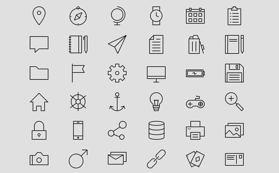 Linea (730+ icons)