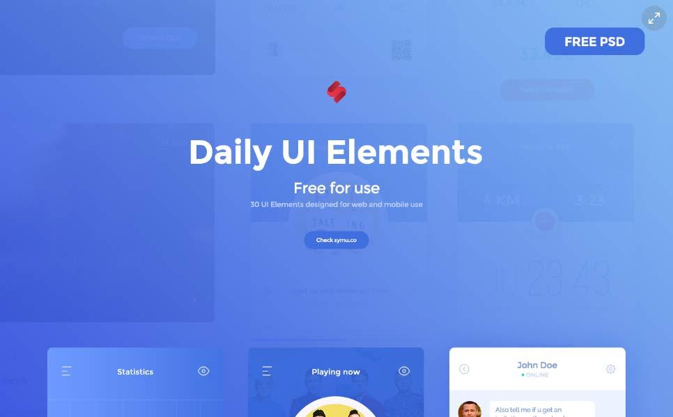 30 UI Elements