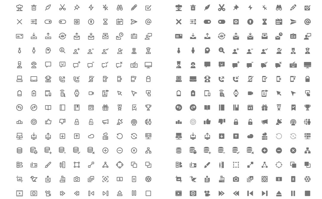 Nova - Material Design Style (350 free icons)