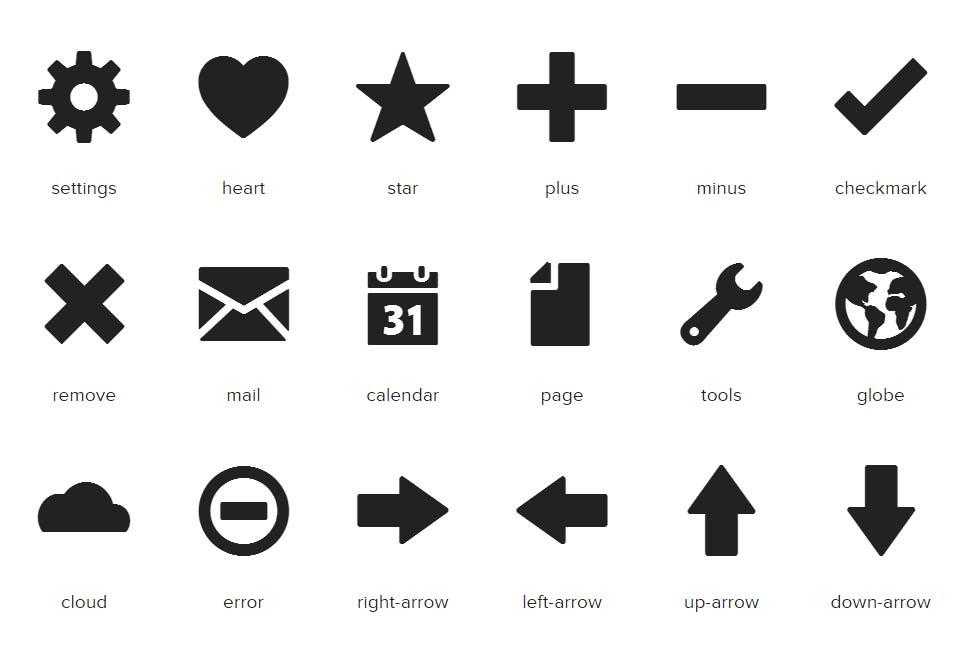 Foundation Icon Font