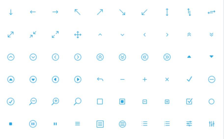 Elegant Icon Font