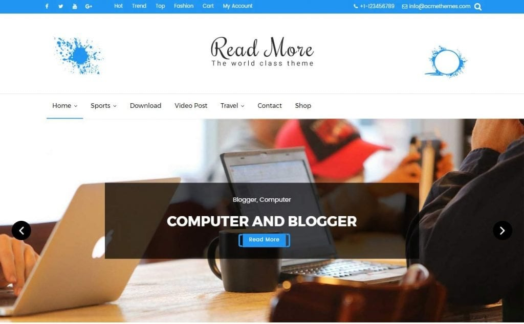 website wordpress themes free download