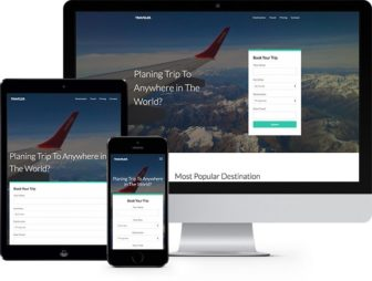 Traveler Free HTML5 Bootstrap Template