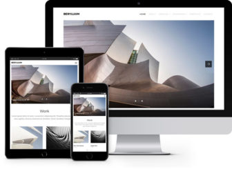 Beryllium free premium architect bootstrap template