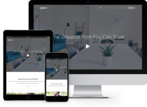 Justice: Free HTML5 Bootstrap Template for Lawyer Websites
