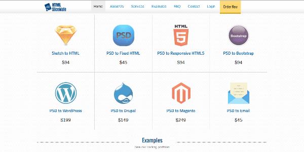HTMLSliceMate