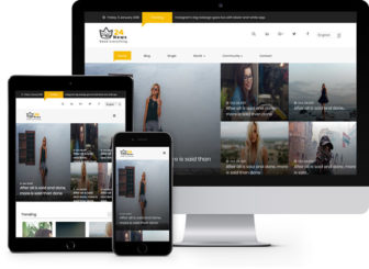 Freehtml5 free website templates free html5 templates using 24 news free viral html5 template using bootstrap for news websites maxwellsz