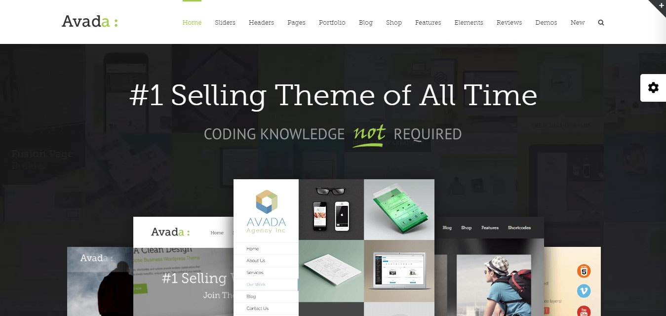 Avada multi-purpose theme