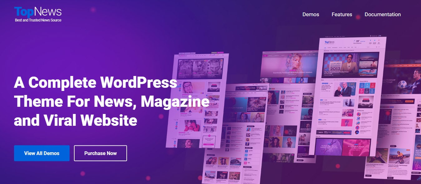 Top News: fastest news WordPress Theme