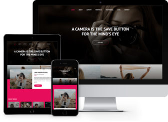 girly free html5 bootstrap template