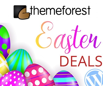WordPress Themes Easter Deals